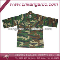 Malaysian Army ACU Uniform/Woodland Camouflage ACU Uniform Set/Solider's Jacket and Pant