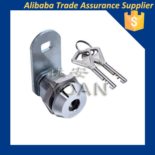 High security disc cam lock stainless steel
