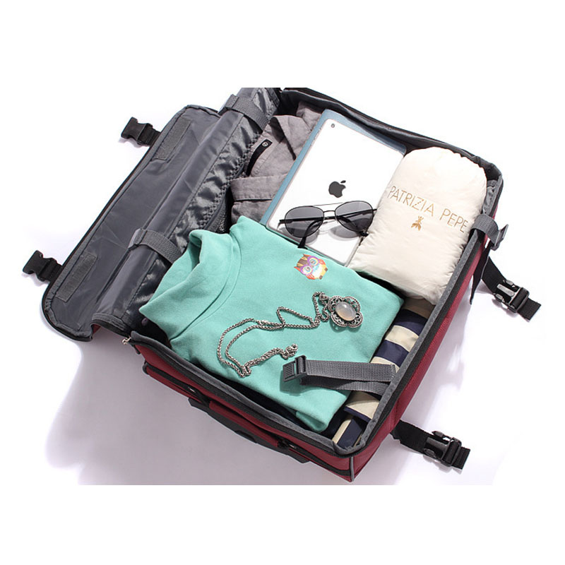 China Cheap Small Trolley Wheeled Foldable Collapsible Handy Carry On Luggage Bag