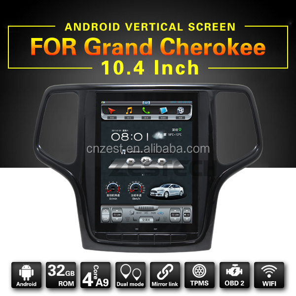 fit for jeep grand cherokee 2014-2017dvd car radio with android 6.0 gps navigation system