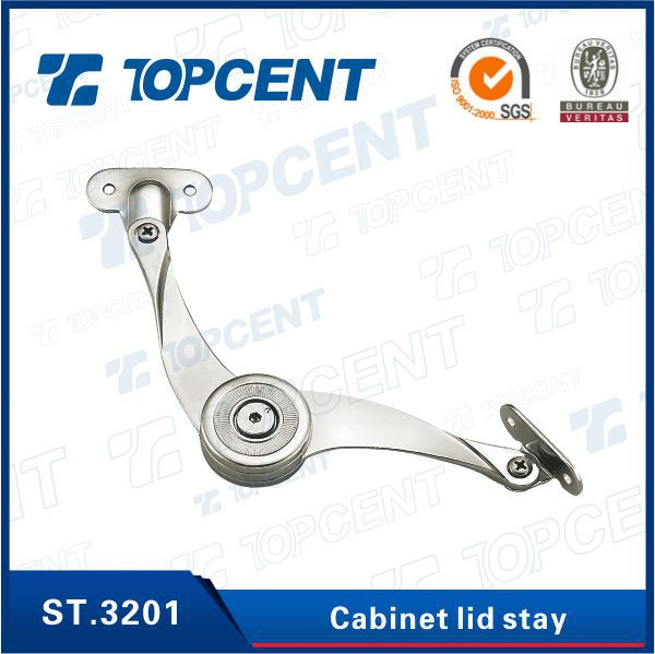 [ST.3201] Zinc alloy nickel plated cabinet lid stay