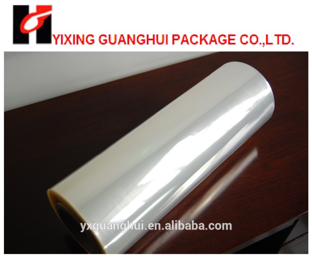 transparent pvc film with high shrinkage