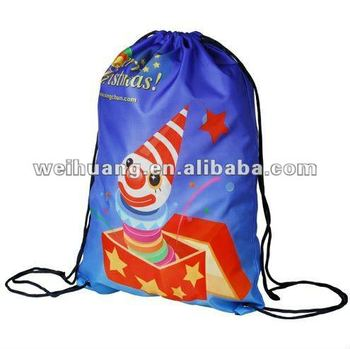 Santa Kids drawstring bag