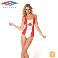 National Flag Bikini Hot Open Sexy Photo Bathing Suit With All Country