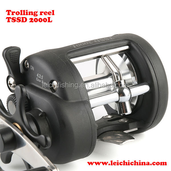 Best lever drag with line counter fishing trolling reel