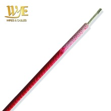 Flexible Glass Fiber Braided Silicone Rubber Wire UL3122