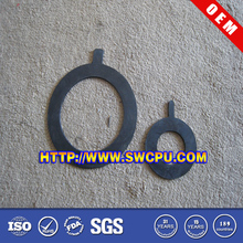 Molded rubber sealing components