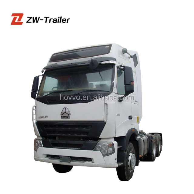6*4 Sinotruk Howo-a7 Used Truck Tractor for sale
