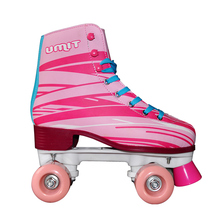 Best price sample available pink racing 4 Wheels two line new style roller skate