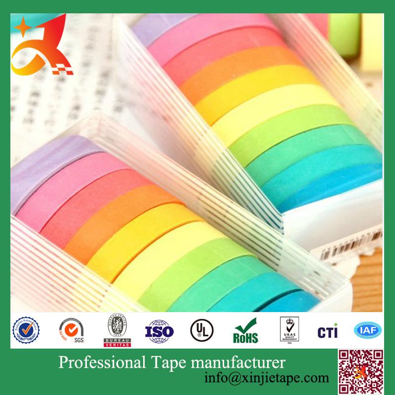 Custom paper service tape