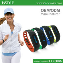 Digital 3D pedometer / smart finess bracelet /waterproof activity tracker/sleep monitor
