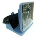 CE approved clock model square type aneroid Sphygmomanometer