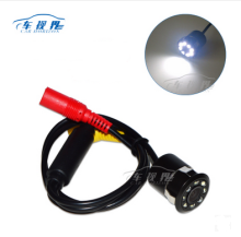 8 LED Night Vision 18.5mm Drill Hole Car Parking Reverse Rear View Backup Camera