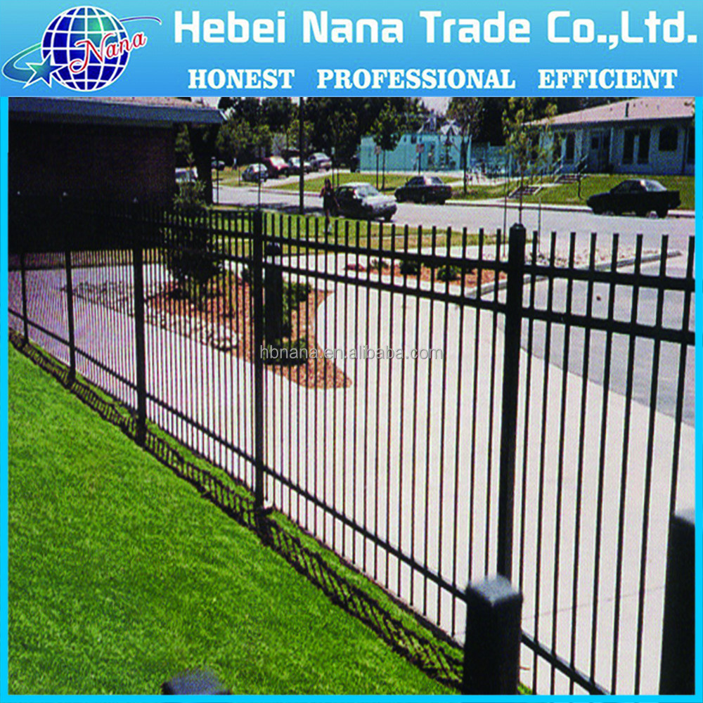different types of aluminum garden fence/yard guard fence/house fence