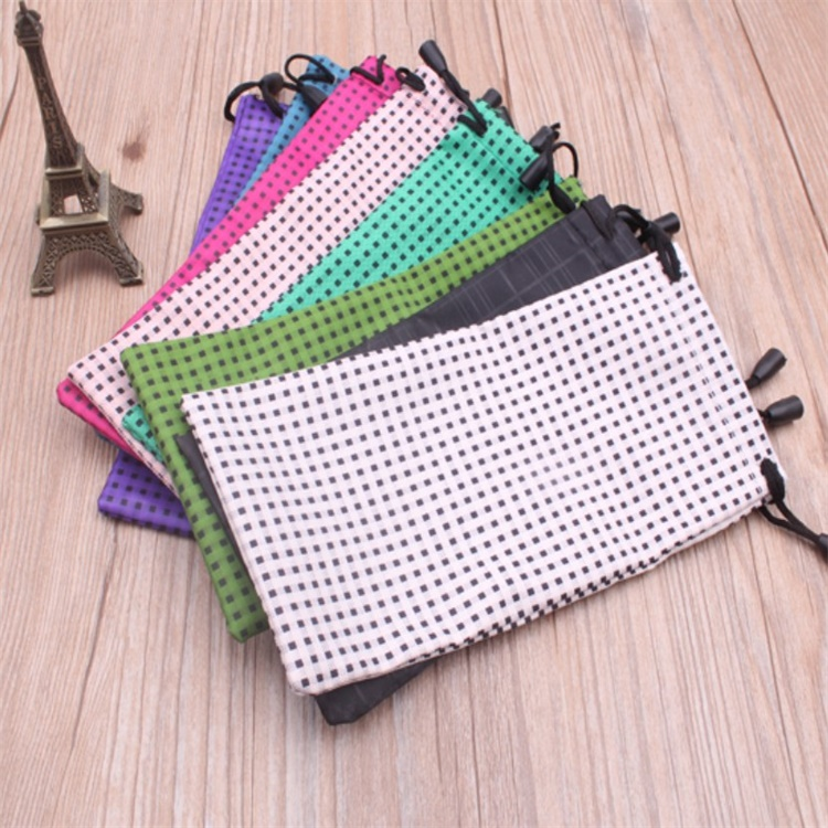 Carry Bag Microfiber Eyeglass Pouch