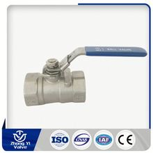 Cheap Wholesale thread ptfe seated 1/4 to 2 inch 2000WOG 1pc ball valve