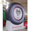 Store opening decoration giant inflatable tire balloon