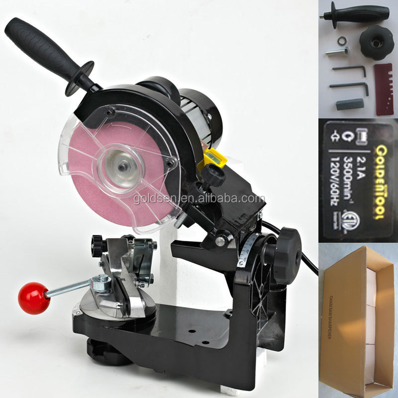 145mm 230w Electric Power Chainsaws Sharpening Sharpener Grinder Machine Tools Chain Grinding Machine