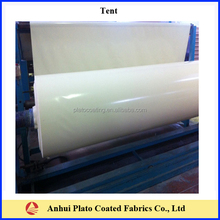 real knife coating pvc coated polyester fabric of tarpaulin pvc material