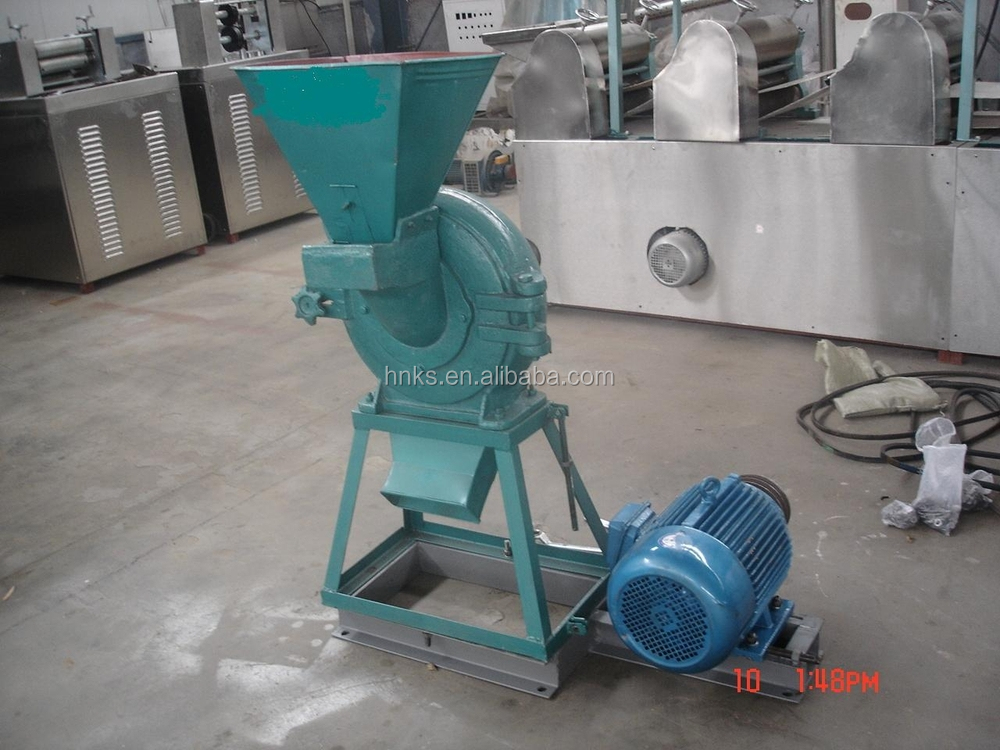 Electric mini roller mill for grain used home view
