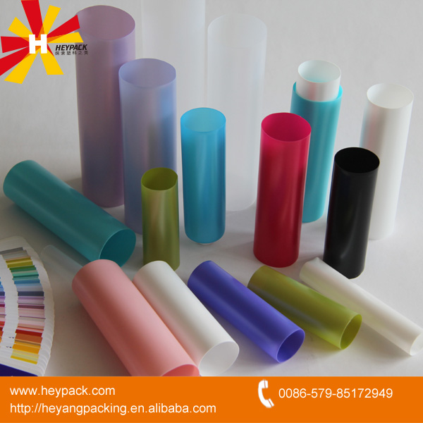 various empty tube plastic packaging
