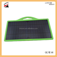 Thin film 8 Watts solar charger, solar panel, solar pack for mobile phone