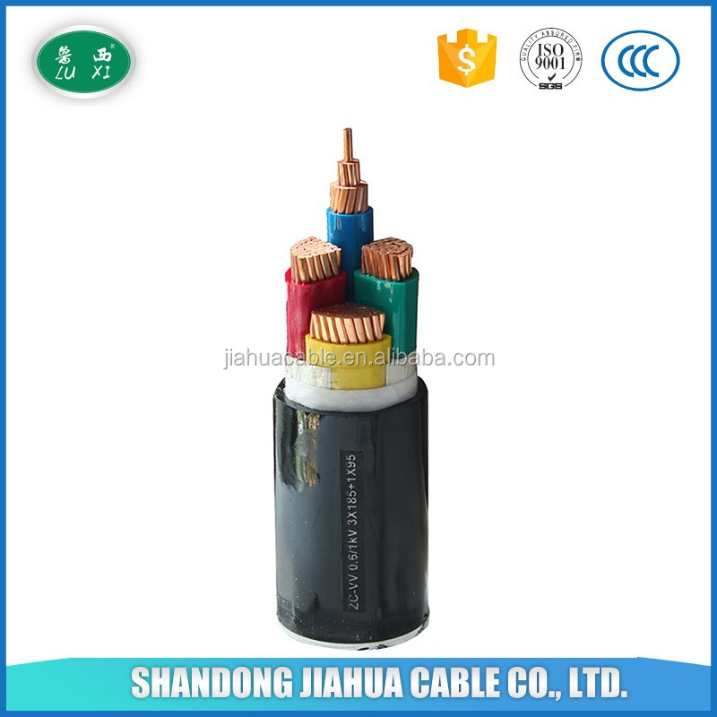 Factory Supplier NYY PVC Insulated Copper Power Cable