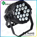 Outdoor waterproof par light 18pcsx12w RGBW 4in1 IP65 LED Par Can