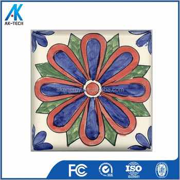 Wholesale 15x15 First Choice Flower Design Kitchen Ceramic Tile Price