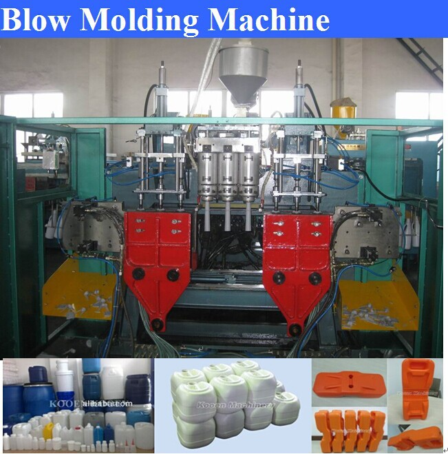 HDPE/PP/PE bottle blow molding machine with good quality