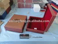 2011 wooden book shaped box{XLF00631}