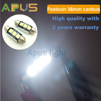 Super Bright Canbus 36MM 3 SMD LED Car Bulbs Festoon 3610 3175 6418