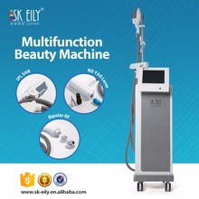 Multifunction nd yag laser/ipl hair removal and tattoo removal machine