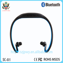 2015 High quality hot sale Headband Wireless Stereo Bluetooth Headphone for smartphone, MP3 ect