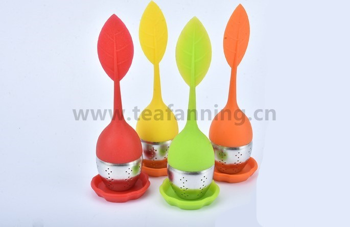 Stainless Leaf Tea Infuser and Strainer with customized gift box