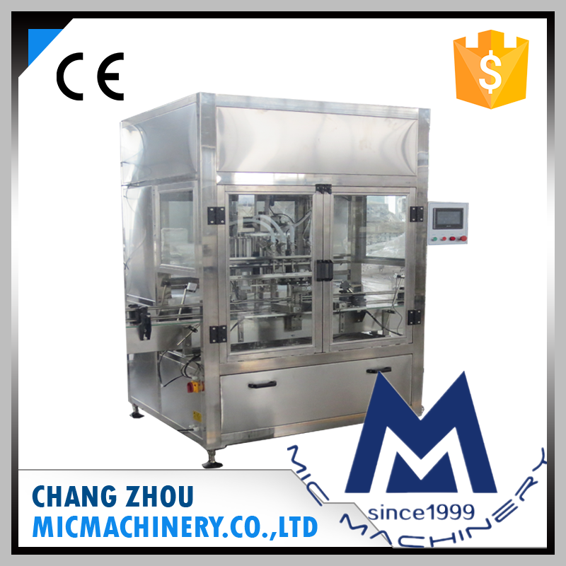 MIC-ZF4 tyre oil filling production line bottle filling machine