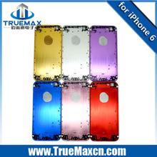 Luxury Color gold housing for iPhone 6 Replacement Back Cover
