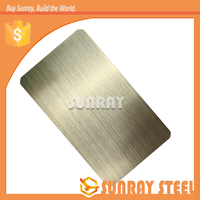 alibaba china supplier hairline 2b surface finish stainless steel for home decor