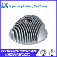 Spray Coated A360 Aluminum Die Casting Industrial Machinery Heat Sink