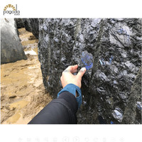 Large Rough Volga Blue Stone Granite Block for Sale Exclusively Supplied by Xiamen Pagoda-Build