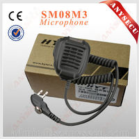 Water Proof Mobile walky talky Model SM08M3 collar microphone TC-518