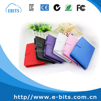 PU leather case micro usb wired 9 inch tablet pc keyboard