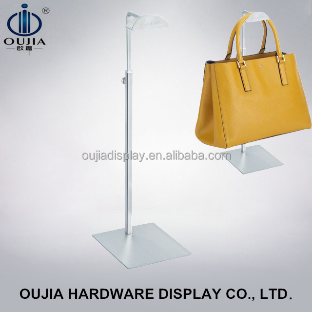 durable holder racks/metal handbag display stand/bag hanger hook