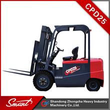 High quality hot sale CPD25 electric compact forklift truck