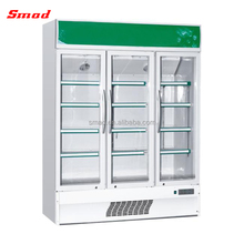 Glass Door Commercial Beer Display Refrigerator Chiller
