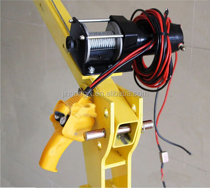 truck mounted crane small truck crane good sale