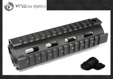 Vector Optics AR15 M4 Carbine Drop In RIS Handguard Picatinny & Weaver Quad Rail Mount System Free 12-Pack Guard Covers
