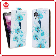 China Manufacturer Custom 3D Image Printed Cover for LG Nexus 5 Leather Case