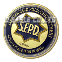 The HOT Selling San Francisco Police Department 1117 Souvenir / Custom Challenge Coin/ Custom Coin