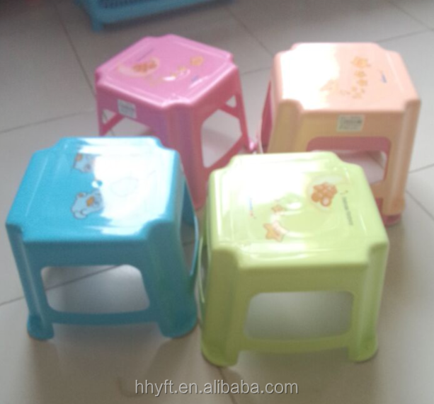 high quality customerized plastic chair four footer on sale